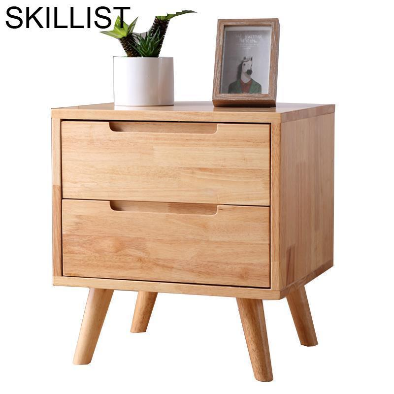 Recamaras Mobilya Slaapkamer Nordic European Vintage Wooden Quarto Cabinet Bedroom Furniture Mueble De Dormitorio Nightstand