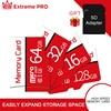 Mini SD TF Card 128GB Class10 UHS-1 Flash Memory Card 8GB 16GB 32GB 64GB 256GB  Micro flash drive  for Phone, Tablet and PCs