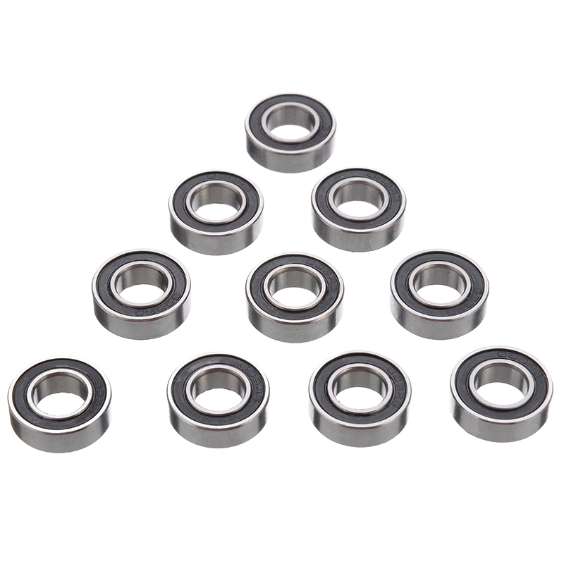 10Pcs/Set <font><b>688</b></font>-2RS <font><b>688</b></font> <font><b>RS</b></font> Rubber Sealed Ball Bearing Miniature Bearings Hardware Accessories 8mm Diameter image