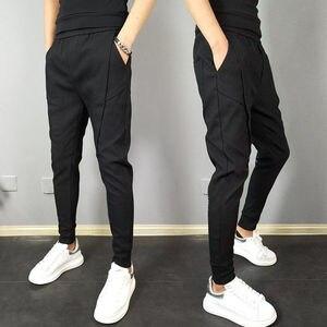 Новинка лета 2020, хит продаж, черные мужские брюки-карго в стиле хип-хоп, легкий мужской светильник, спортивные штаны, уличная одежда, повседн...