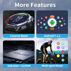 Image 5 - часы мужские KOSPET Prime שעון חכם תומך עברית Smartwatch 2020 3GB 32GB שעון חכם Men Smart Watch טֵלֵפוֹן For Man שעון לגבר GPS חכם שעונים Battery 1260mAh Android שעונים לנשים WIFI смарт часы For Xiaomi Phone Samsung