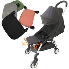Hight qualidade acessórios do carrinho de bebê perna placa resto para babyzenes yoyo yoya yuyu carrinho footboard estender 15cm ou 21cm