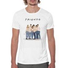 Freunde kleidung-TV Zeigen F.R. ICH. E.N.D.S t-shirt Amigos camiseta sitcom Freunde Kühlen Casual stolz t hemd männer Unisex Mode (1)