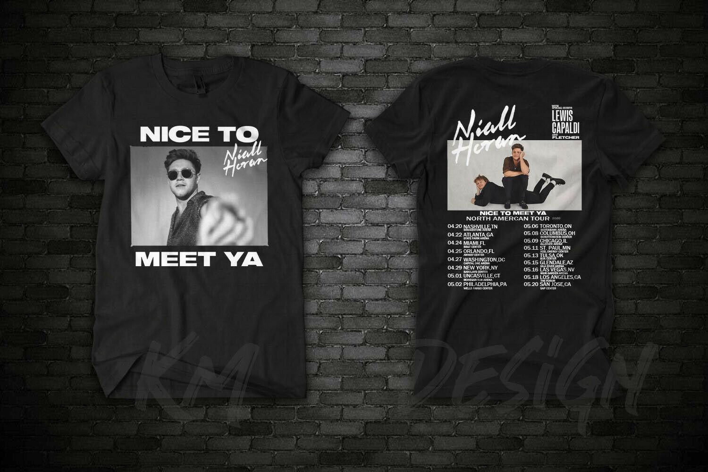 Niall Horan 2020 Nice To Meet Ya Tour Casual Unisex T-Shirt