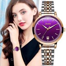 цена на Relogios feminino Women Watches SUNKTA Top Brand Luxury Watch Quartz Waterproof Women's Wristwatch Ladies Girls Fashion Clock