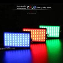 Pocket On Camera RGB Full Color LED Video Light 2400K-10000K Dimmable Photography Lamp Video Studio Light DSLR Cameras for Vlog стоимость