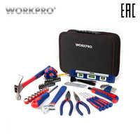 Conjunto de ferramentas 100 pces workpro w009021ae