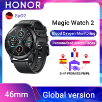 Global Version Honor Magic Watch 2 Smart Watch Bluetooth5.1 Smartwatch Waterproof 14 Days Sports Watch For Android iOS