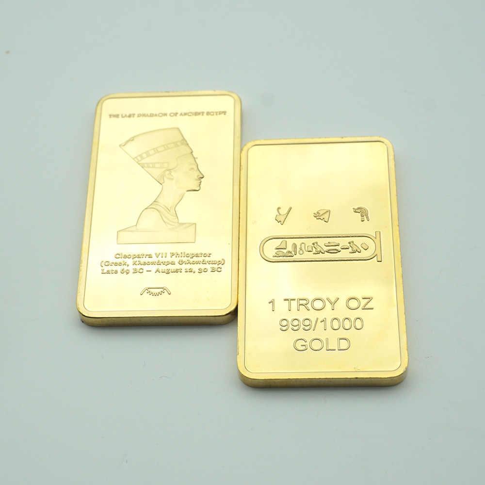 Replica Gold Bullion Egypt Queen