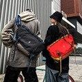 Männer Crossbody Reflektierende Messenger Taschen Oxford Wasserdichte Ridding Tasche Sling Schulter Reisetasche Große Mountainbike Radfahren Tasche