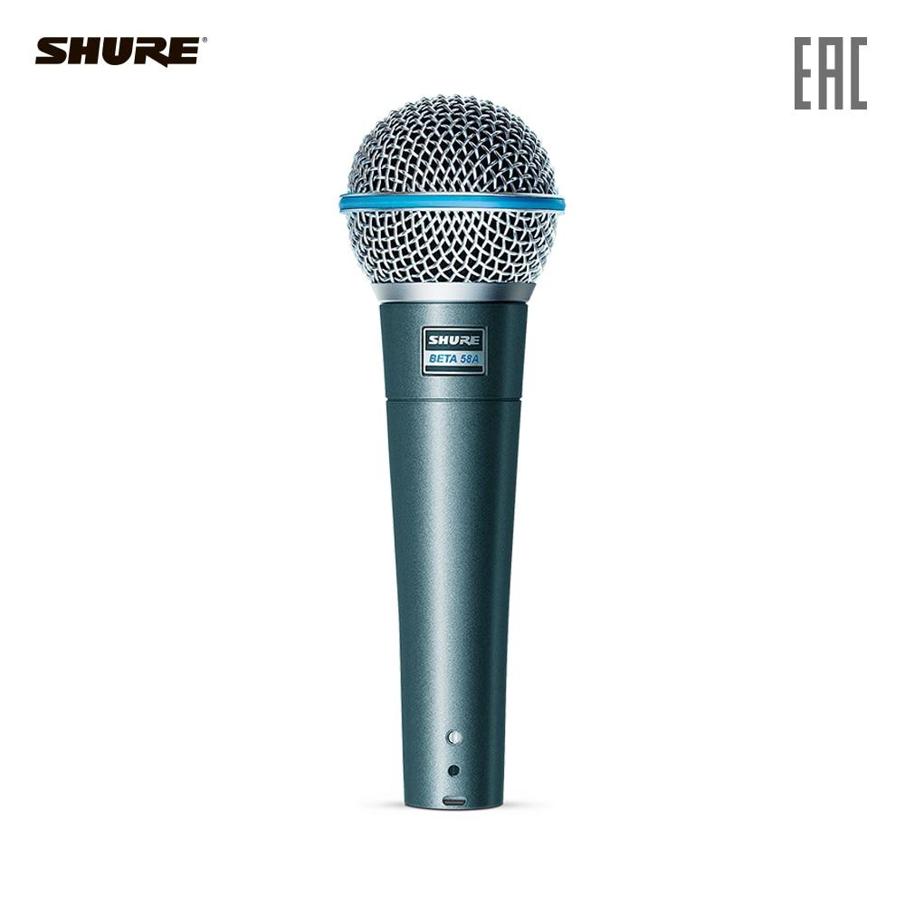 все цены на SHURE Microphones BETA-58A Consumer Electronics Portable Audio microphone karaoke studio for pc онлайн