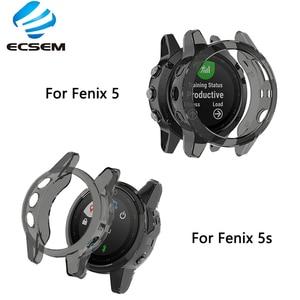 Image 1 - TPU ป้องกันสำหรับ Garmin Fenix 5 5S PLUS Smart Watch อุปกรณ์เสริมป้องกันการกระแทกเปลือกป้องกันฝุ่น