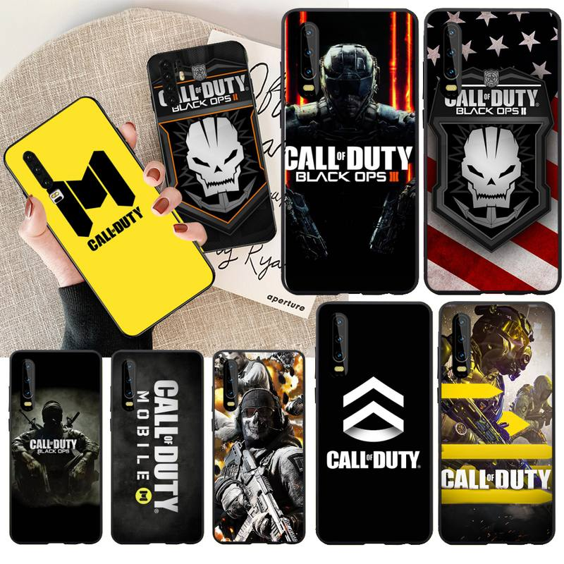 NBDRUICAI CALL OF DUTY GAME TPU Soft <font><b>Phone</b></font> <font><b>Case</b></font> Cover for <font><b>Huawei</b></font> P30 P20 Mate 20 Pro Lite Smart Y9 prime 2019 image