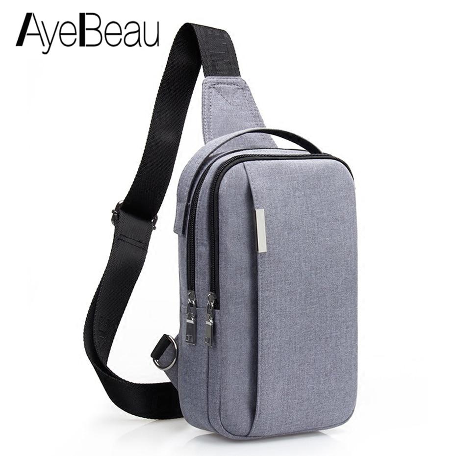 Crossbody Men Shoulder Bag Male Sling Chest Cross Body Messenger Handbag For Handy Belt Sacoche Homme Sac A Main Bolsos Borse