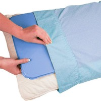 New 2pcs/set Cooling Gel Pillows Household Concise Cooling Gel Pillows Practical Comfortable improve Quality of Sleep