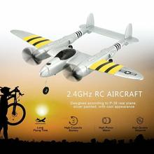 High Quality FX-816 P38 Airplane 2.4GHz 2CH RC Plane Model Aircraft Outdoor Flight Toy for Children Boys flight fx 15r