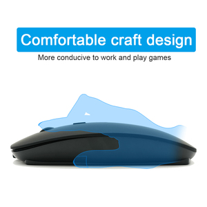 Image 2 - Bluetooth Silent Wireless Mouse Rechargeable Built in Battery 2.4Ghz USB Computer Mause for PC Laptop