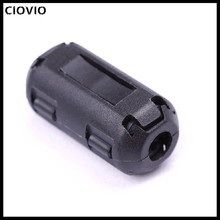 CIOVIO 20 Pcs 5mm-13mm Clip-On Ferrite Ring Core Noise Suppr