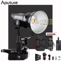 APUTURE LS 120D MARK II LIGHT STORM COB LED LIGHT KIT (V MOUNT) For Canon Nikon Sony Youtube Photographer