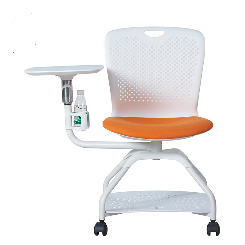Office Chair Training Chair With Writing Board Meeting Chair Teaching Training Chair With Book Net Chair