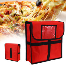 11 pouces résistant à l'usure pique-nique alimentaire stockage isolé support ergonomique Pizza livraison sac étui frais Portable boîte thermique
