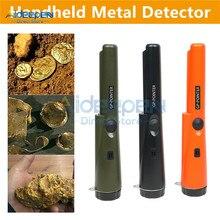 Professionele Handheld Metaaldetector Goud Detector Waterdichte Hoofd Aanwijzen Gold Digger Tuin Detecteren Voor Coin Gold