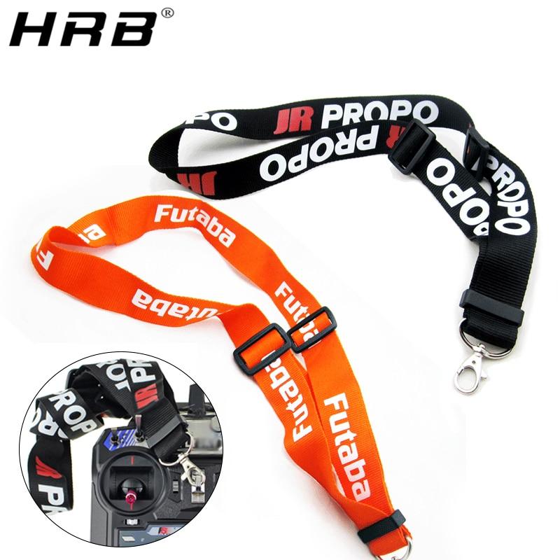 Adjustable Lanyard Strap RC Parts For JR PRO Propo Remote Controller Transmitter FPV For Futaba Orange Black Neck Belts 14cm Hot
