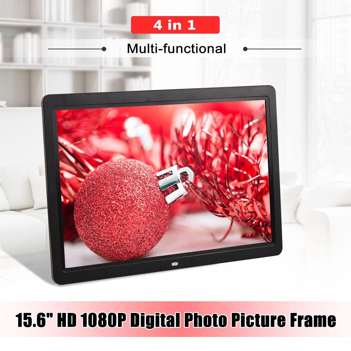 12 Безрамное HD цифровое изображение электронный альбом фоторамка фильм MP4 плеер Дистанционное управление Фото Сигнализация часы украшение