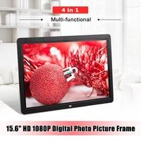 12 Frameless HD Digital Picture Electronic Album Photo Frame Movie MP4 Player Remote Control Photo Alarm Clocks Home Decoration