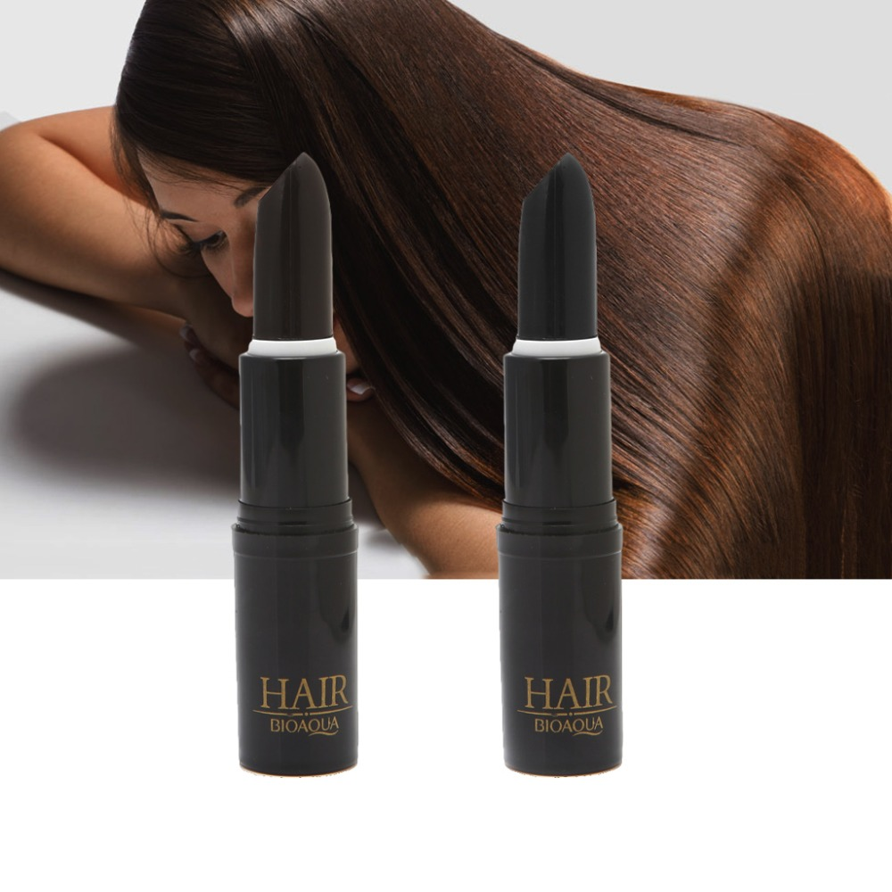 Hair dye Instant Gray Root Coverage Hair Color Modify Cream Stick Temporary Cover Up White Hair Colour Dye Long Wear image