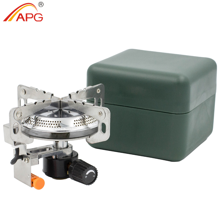 APG Gas Stove Fires And Equipped With Fire Starter Portable Foldable Gas Burners