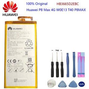 Запасная батарея для телефона Hua Wei HB3665D2EBC для Huawei P8 Max 4G W0E13 T40 P8MAX 4230mAh