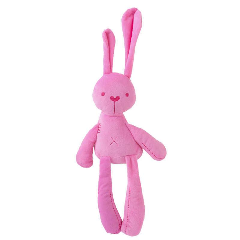 42CM Cute Rabbit Doll Soft Plush Toys For Children Bunny Sleeping Mate Stuffed &Plush Animal Baby For Infants Kids Gift New Q32