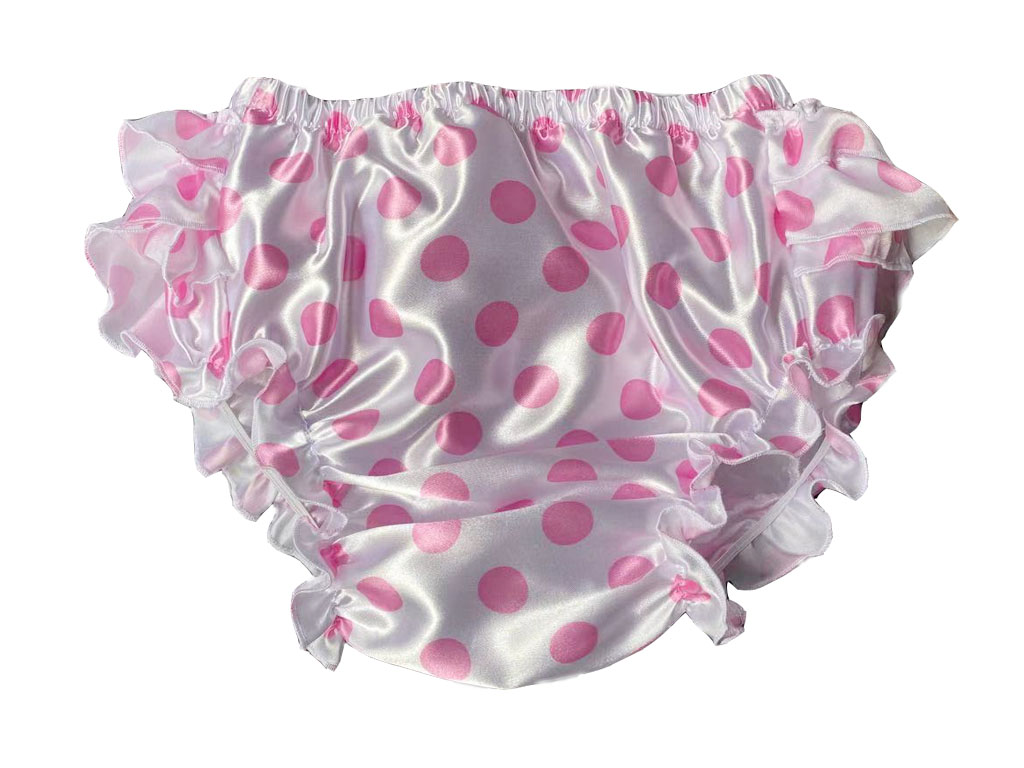 Adult Ruffle Panties Bloomers Incontinence Diaper Cover #FSP06-7,M / L /  XL/ XXL