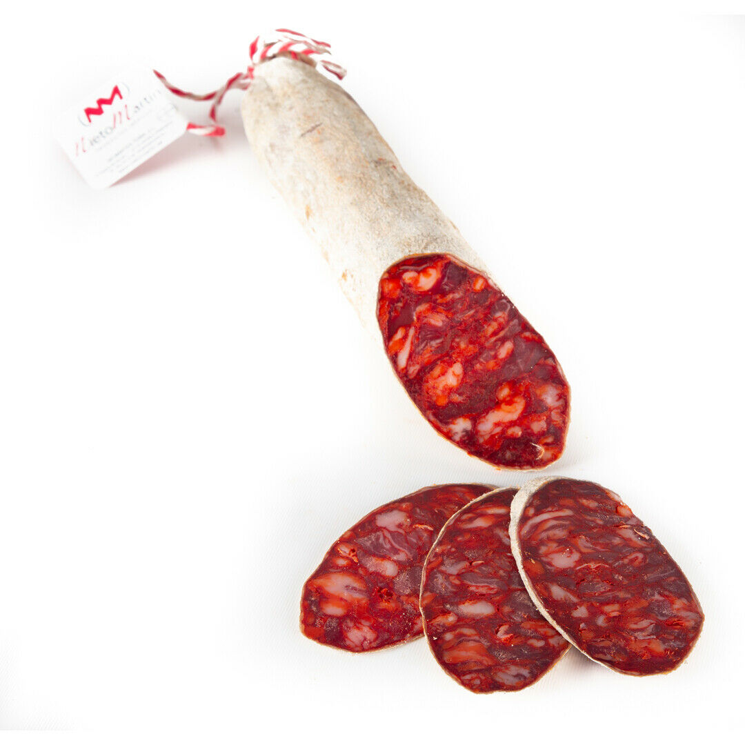 Chorizo Campaña de Bellota. Guijuelo. Entre 1,15-1,35 kg aprox. Iberian Ham.