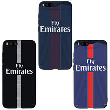MA Football PSG Jersey Style Soft Phone case cover For Xiaomi Redmi A1 A2 4X 5A 5 Plus 8 9 lite Note 4X Note 5A 6 7 Pro Case(China)