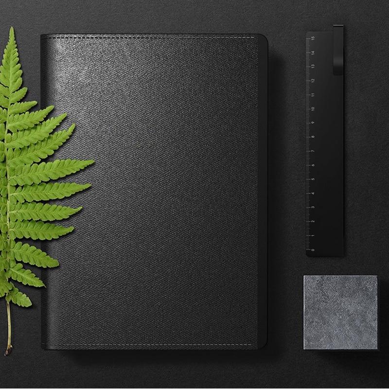 Fingerprint Lock Notebook S8 Usb Charge Fingerprint Unlock Multifunction Secure Privacy Protect Business Meeting Notebook