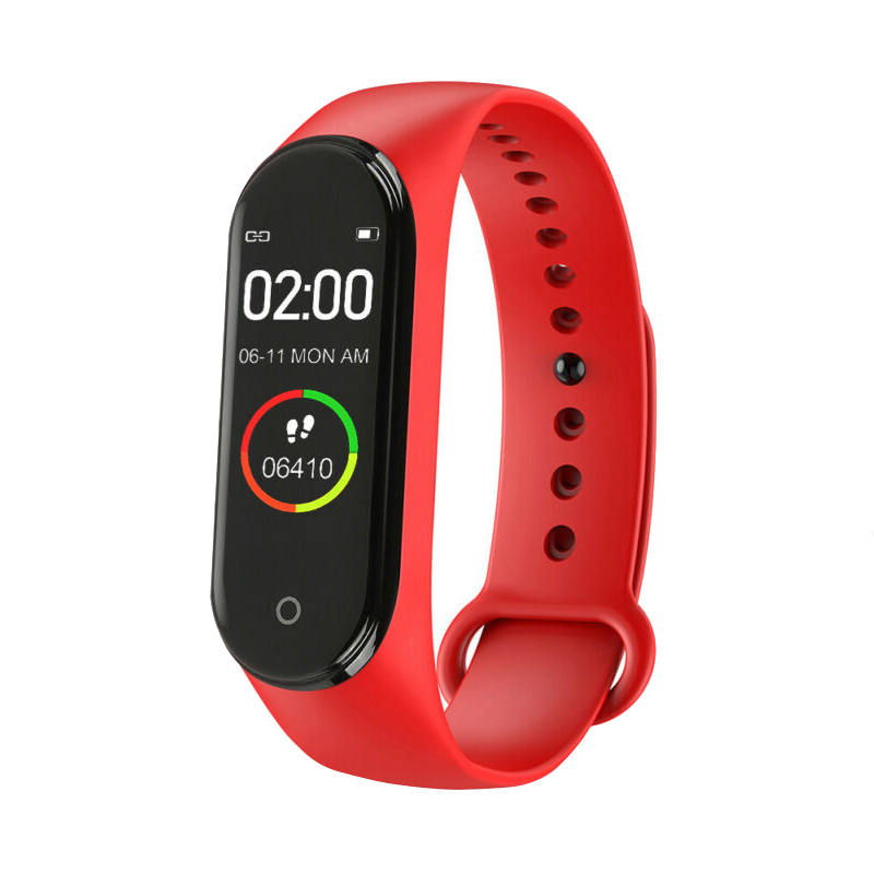 New Color Screen Smart M4 Watch Portable Heart Rate Monitor For Men And Women
