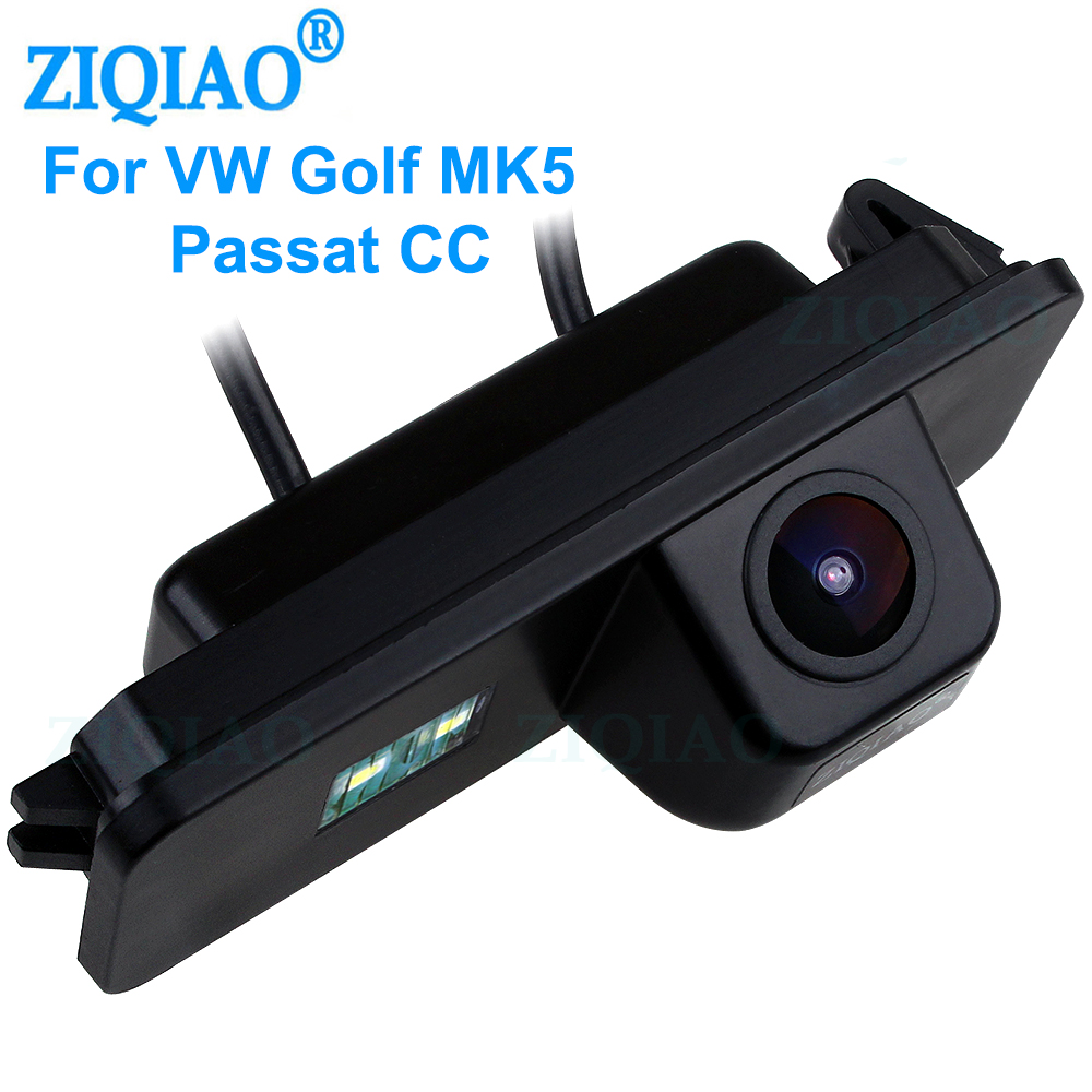 ZIQIAO for VW Passat Phaeton Scirocco Golf 4 5 6 MK4 MK5 MK6 Eos Polo Beetle Lupo Leon HD Reverse Parking Camera HS044|Vehicle Camera| - AliExpress
