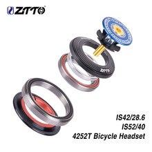 ZTTO велосипедная рулевая колонка 42 мм УФ-фильтр 52 мм с ЧПУ 1 1/8