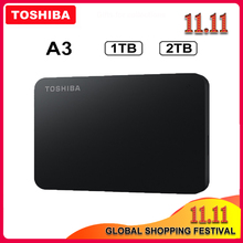 External-Hard-Drive Toshiba Canvio HDD Externo Disco Duro Usb-3.0 Portable 1TB 2TB Basics