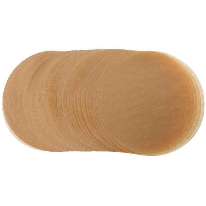 Unbleached Parchment Paper Cookie Baking Sheets,7 Inch Premium Brown Parchment Paper Liners For Round Cake Pans Circle,Non Stick Paper Napkins & Serviettes    - AliExpress