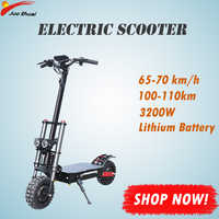 Electric Scooter 60V 3200W/52V 2000W Monopattino Elettrico X60 Hulajnoga Elektryczna Trotinette Electrique Adulte Puissant Ebike