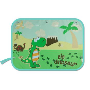 70*50CM Children Car Side Window Sunshade Cartoon Curtain Sun Visor UV Protection For Boys Kids Rear Cover image