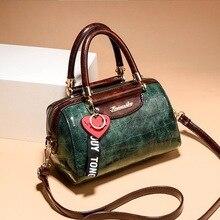 iimis sis Alligator Small Women's Handbags PU Leather Women's Shoulder Bags Ladi