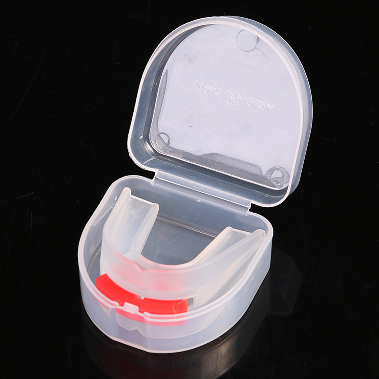 Double-Sided Dental Care Sets Gum Shield Sanda Taekwondo Boxing Sport Ware Adult Eva Tooth Socket Anti-Wear