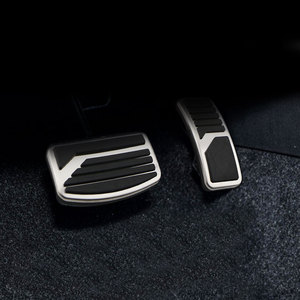 Image 2 - Stainless Steel Car Pedal Pad Cover AT MT Pedals for Mitsubishi ASX Outlander Lancer EX Eclipse Cross Pajero RU