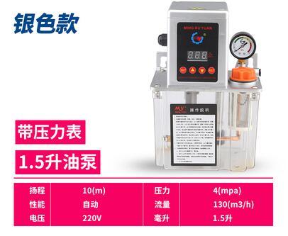 Pièces sur mesure pour pompe à huile automatique système de lubrification à l'huile de lubrification graisseur pompe à engrenages électrique pot d'huile