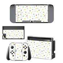 Наклейка с изображением животных для консоли Nintendo Switch и контроллера Joy Con