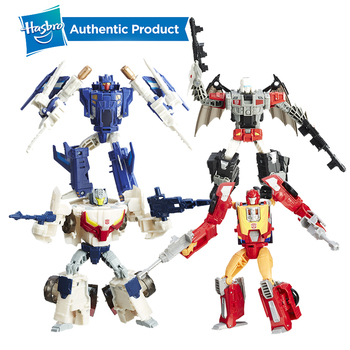 Hasbro Transformers Toys Titans Return Deluxe Autobot Hot Rod and Firedrive Action Figure Collection Model Boy Car Doll transformers toys the last knight premier edition steelbane deluxe dinobot slug autobot sqweeks action figures collection model